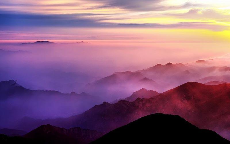 兴隆雾灵山,溶洞三日游