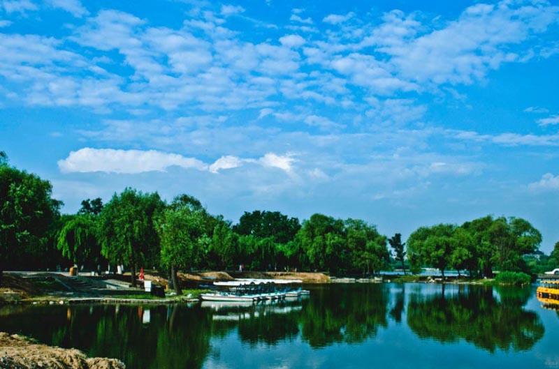 唐山抗震纪念馆,南湖公园,月坨岛三日游