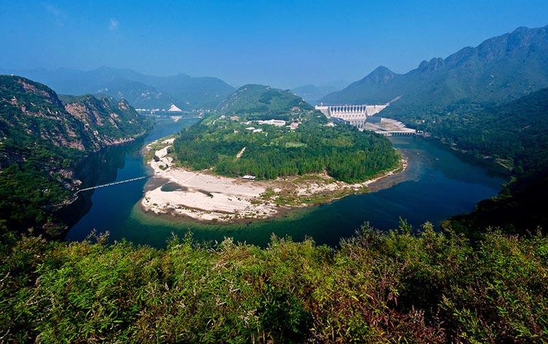 青龙桃林口水库,祖山,花果山风景区三日游