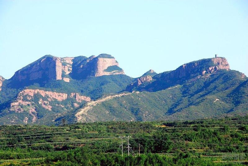 贊皇石柱山,五馬山二日游-旅游